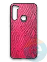 Накладка силиконовая Pitone для Xiaomi Redmi Note 8T малиновая