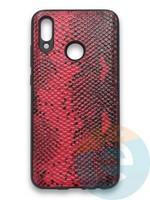 Накладка силиконовая Pitone для Huawei P Smart 2019/Honor 10 Lite бордовая