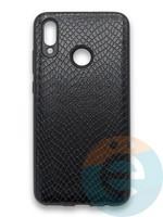 Накладка силиконовая Pitone для Huawei P Smart 2019/Honor 10 Lite черная