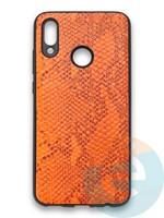 Накладка силиконовая Pitone для Huawei P Smart 2019/Honor 10 Lite оранжевая