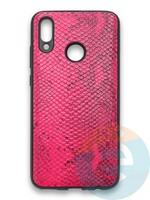 Накладка силиконовая Pitone для Huawei P Smart 2019/Honor 10 Lite малиновая
