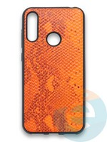 Накладка силиконовая Pitone для Huawei Y6 2019/Honor 8A оранжевая