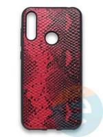 Накладка силиконовая Pitone для Huawei Y6 2019/Honor 8A бордовая