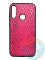 Накладка силиконовая Pitone для Huawei Y6 2019/Honor 8A малиновая