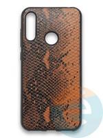 Накладка силиконовая Pitone для Huawei Y6 2019/Honor 8A коричневая