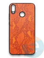 Накладка силиконовая Pitone для Huawei Honor 8X оранжевая