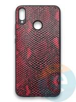 Накладка силиконовая Pitone для Huawei Honor 8X бордовая