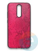 Накладка силиконовая Pitone для Xiaomi Redmi 8 малиновая