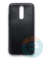 Накладка силиконовая Pitone для Xiaomi Redmi 8 черная