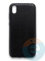 Накладка силиконовая Pitone для Huawei Y5 2019/Honor 8S черная