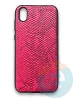 Накладка силиконовая Pitone для Huawei Y5 2019/Honor 8S малиновая