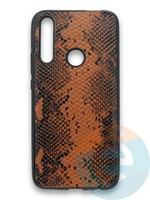 Накладка силиконовая Pitone для Huawei P Smart Z/Y9 Prime/Honor 9X коричневая
