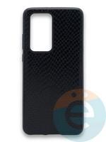 Накладка силиконовая Pitone для Huawei P40 Pro черная