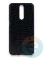 Накладка силиконовая Pitone для Xiaomi Redmi K30 черная