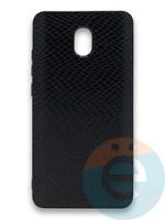 Накладка силиконовая Pitone для Xiaomi Redmi 8A черная