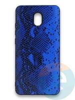 Накладка силиконовая Pitone для Xiaomi Redmi 8A синяя