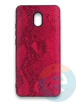 Накладка силиконовая Pitone для Xiaomi Redmi 8A малиновая