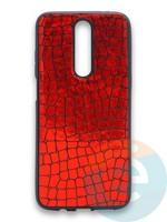Накладка силиконовая Fantastic Skin блестящая для Huawei Y5 2018/Honor 7A красная