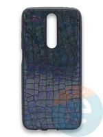 Накладка силиконовая Fantastic Skin блестящая для Huawei Y5 2018/Honor 7A черная