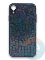 Накладка силиконовая Fantastic Skin блестящая для Huawei P40 черная