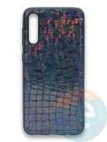 Накладка силиконовая Fantastic Skin блестящая для Samsung Galaxy A50/A30S черная