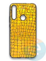 Накладка силиконовая Fantastic Skin блестящая для Huawei P Smart Z/Y9 Prime/Honor 9X золотистая