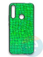 Накладка силиконовая Fantastic Skin блестящая для Huawei P Smart Z/Y9 Prime/Honor 9X зеленая