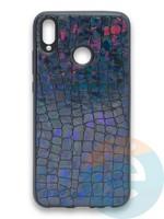 Накладка силиконовая Fantastic Skin блестящая для Huawei Honor 8X черная