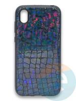 Накладка силиконовая Fantastic Skin блестящая для Huawei Y5 2019/Honor 8S черная
