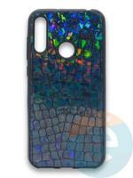 Накладка силиконовая Fantastic Skin блестящая для Huawei Y6 2019/Honor 8A черная
