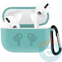 Чехол силиконовый для наушников Apple airPods Pro с логотипом Coast Blue