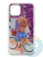 Накладка силиконовая Girl Style для Apple Iphone 11 Pro ViewGoals