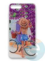 Накладка силиконовая Girl Style для Apple Iphone 7/8/SE2 ViewGoals