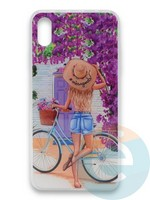 Накладка силиконовая Girl Style для Apple Iphone Xr ViewGoals