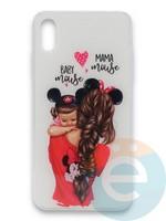 Накладка силиконовая Girl Style для Apple Iphone Xr Baby Mama