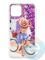 Накладка силиконовая Girl Style для Apple Iphone 11 Pro Max ViewGoals