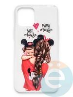 Накладка силиконовая Girl Style для Apple Iphone 11 Pro Max Baby Mama