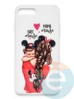Накладка силиконовая Girl Style для Apple Iphone 6/6s Baby Mama