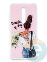 Накладка силиконовая Girl Style для Xiaomi Redmi K20/K20 Pro/Mi 9T/Mi 9T Pro Beautiful Day