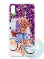 Накладка силиконовая Girl Style для Apple Iphone Xs Max ViewGoals
