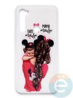 Накладка силиконовая Girl Style для Xiaomi Redmi Note 8T Baby Mama