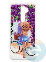 Накладка силиконовая Girl Style для Xiaomi Redmi Note 8 Pro ViewGoals