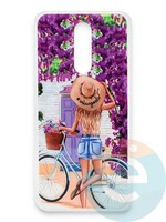 Накладка силиконовая Girl Style для Xiaomi Redmi 8 ViewGoals