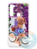 Накладка силиконовая Girl Style для Xiaomi Redmi Note 8 ViewGoals