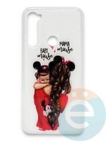 Накладка силиконовая Girl Style для Xiaomi Redmi Note 8 Baby Mama