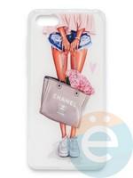 Накладка силиконовая Girl Style для Huawei Honor 7A/Y5 2018 Flowers