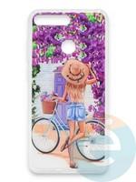 Накладка силиконовая Girl Style для Huawei Honor 7A Pro/Y6 2018 ViewGoals