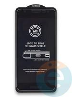 Защитное стекло 6D с полной проклейкой на Samsung Galaxy J2 Core черное