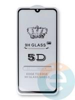 Защитное стекло 5D с полной проклейкой на Xiaomi Mi 9 SE черное