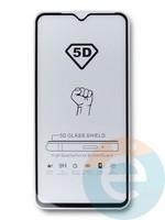 Защитное стекло 5D с полной проклейкой на Xiaomi Redmi 8/8A черное